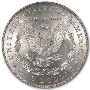 1878 Morgan Dollar 7 TF Rev of 78 MS-63 PCGS (VAM-100, Typ-1 Obv)