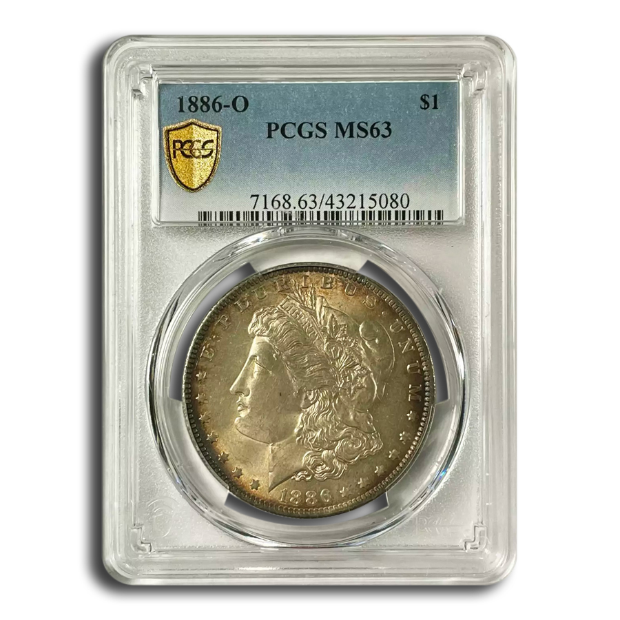 1886-O Morgan Dollar MS-63 PCGS