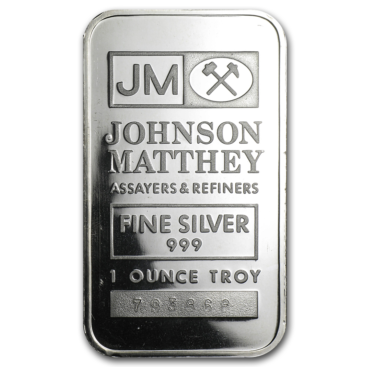 1 oz Silver Bar - Johnson Matthey (Secondary Market)