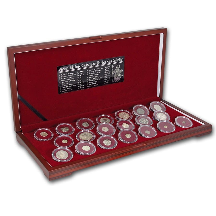 Ancient Silk Road Silver Coin Collection