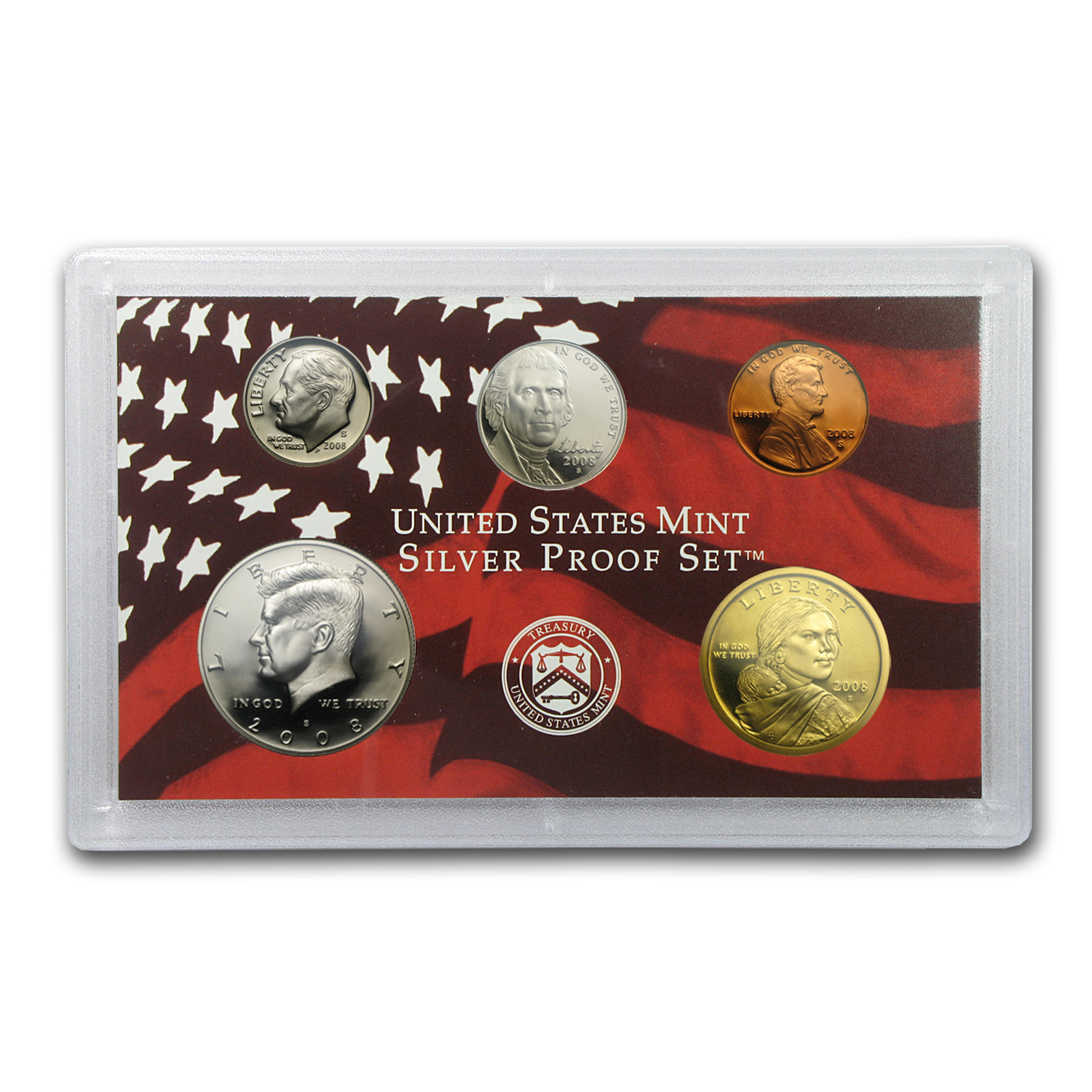 2008 Silver Proof Set