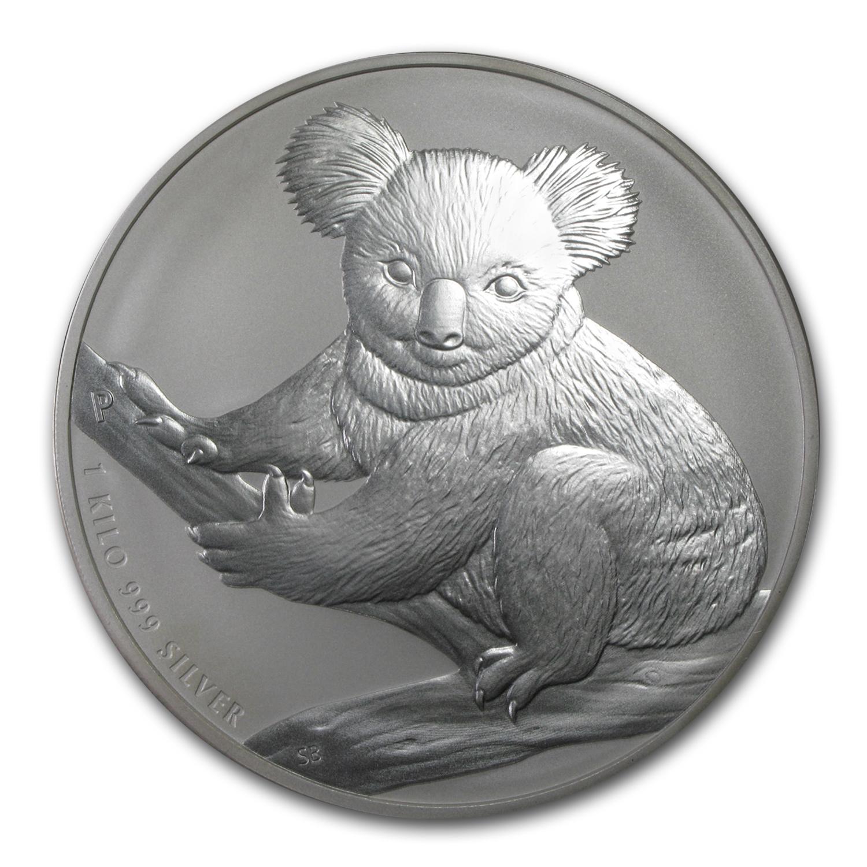 Kilo Silvers: 2009 Australia 1 Kilo Silver Koala BU