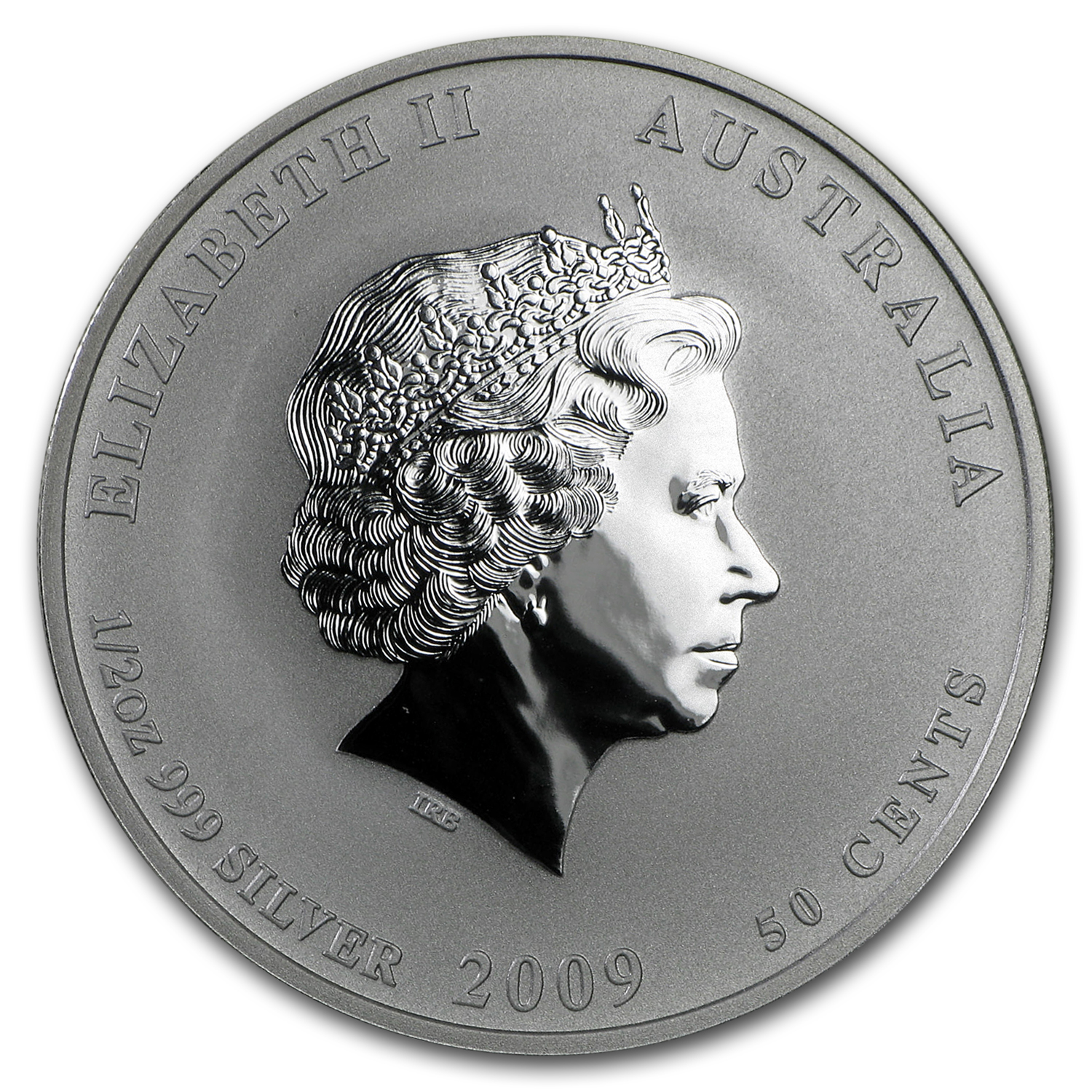 2009 Australia 1/2 oz Silver Year of the Ox BU (Series II)
