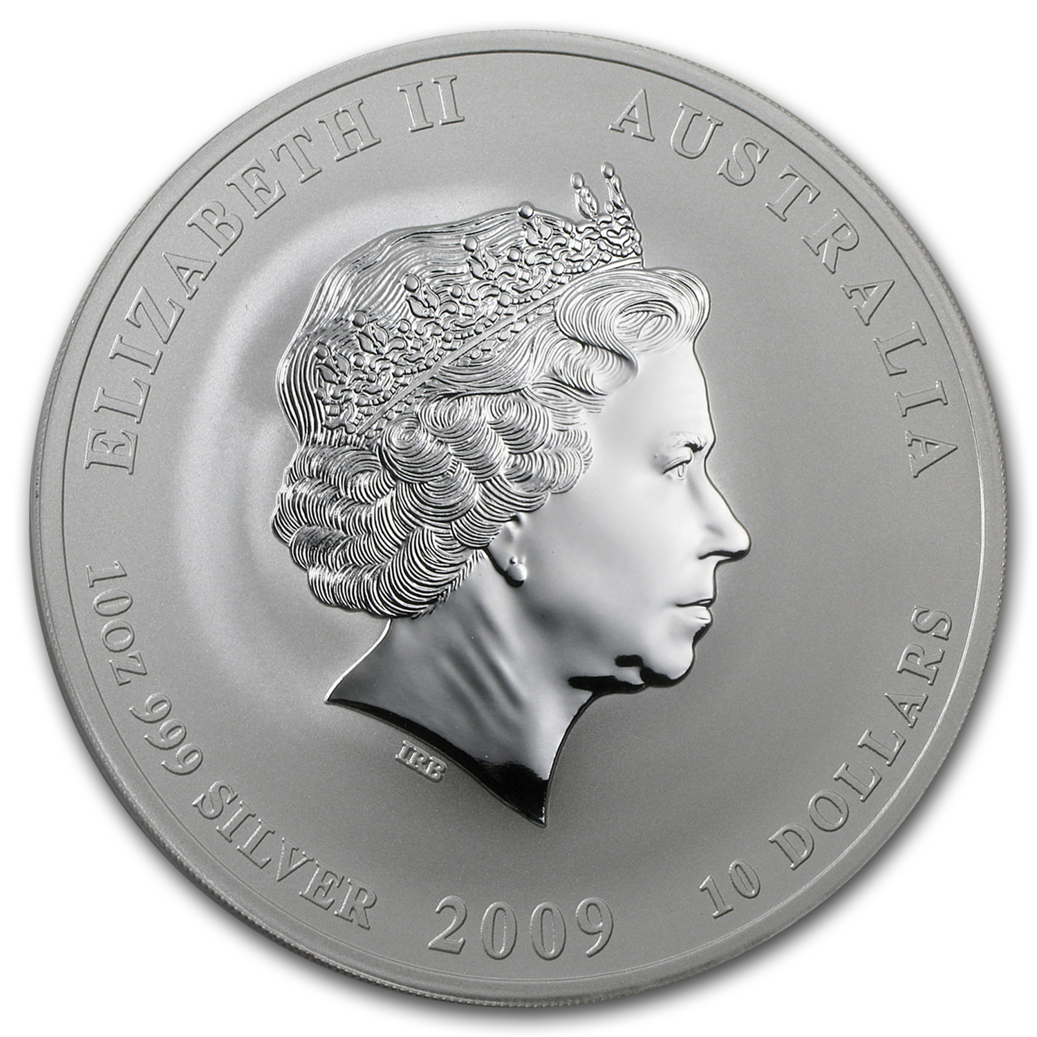 2009 Australia 10 oz Silver Year of the Ox BU (Series II)