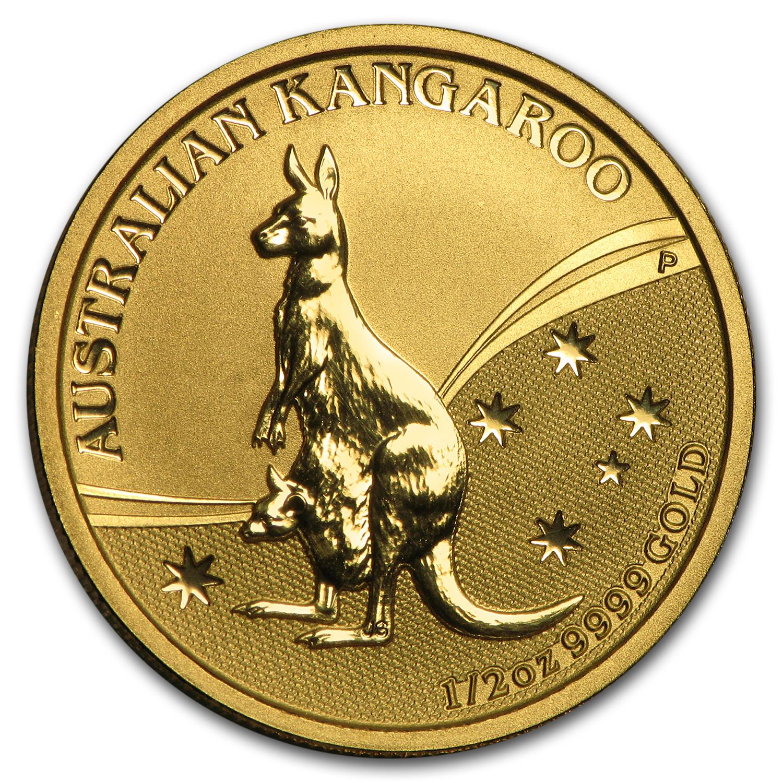 2009 Australia 1 2 Oz Gold Kangaroo Bu Gold Value