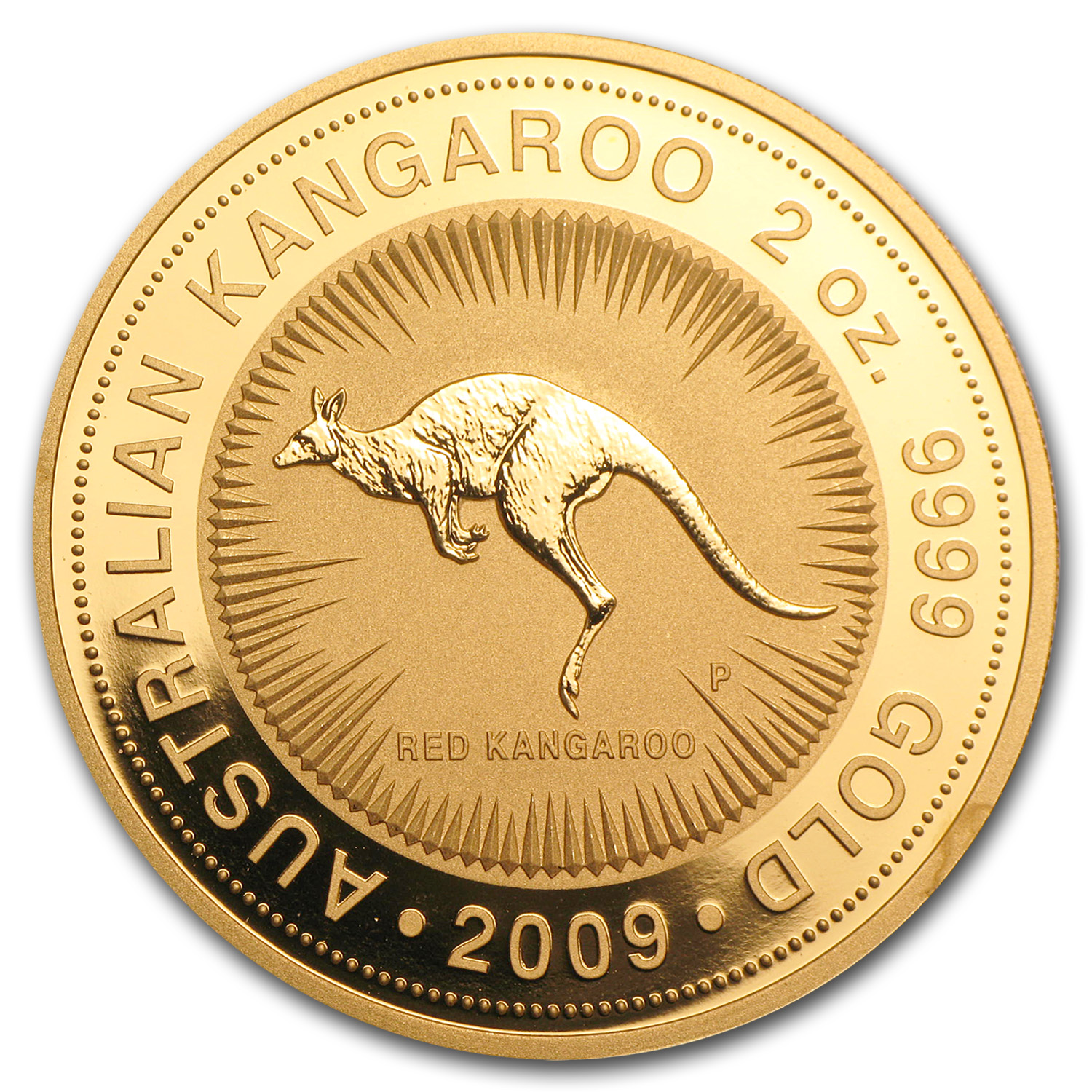 2009 2 oz Australian Gold Nugget