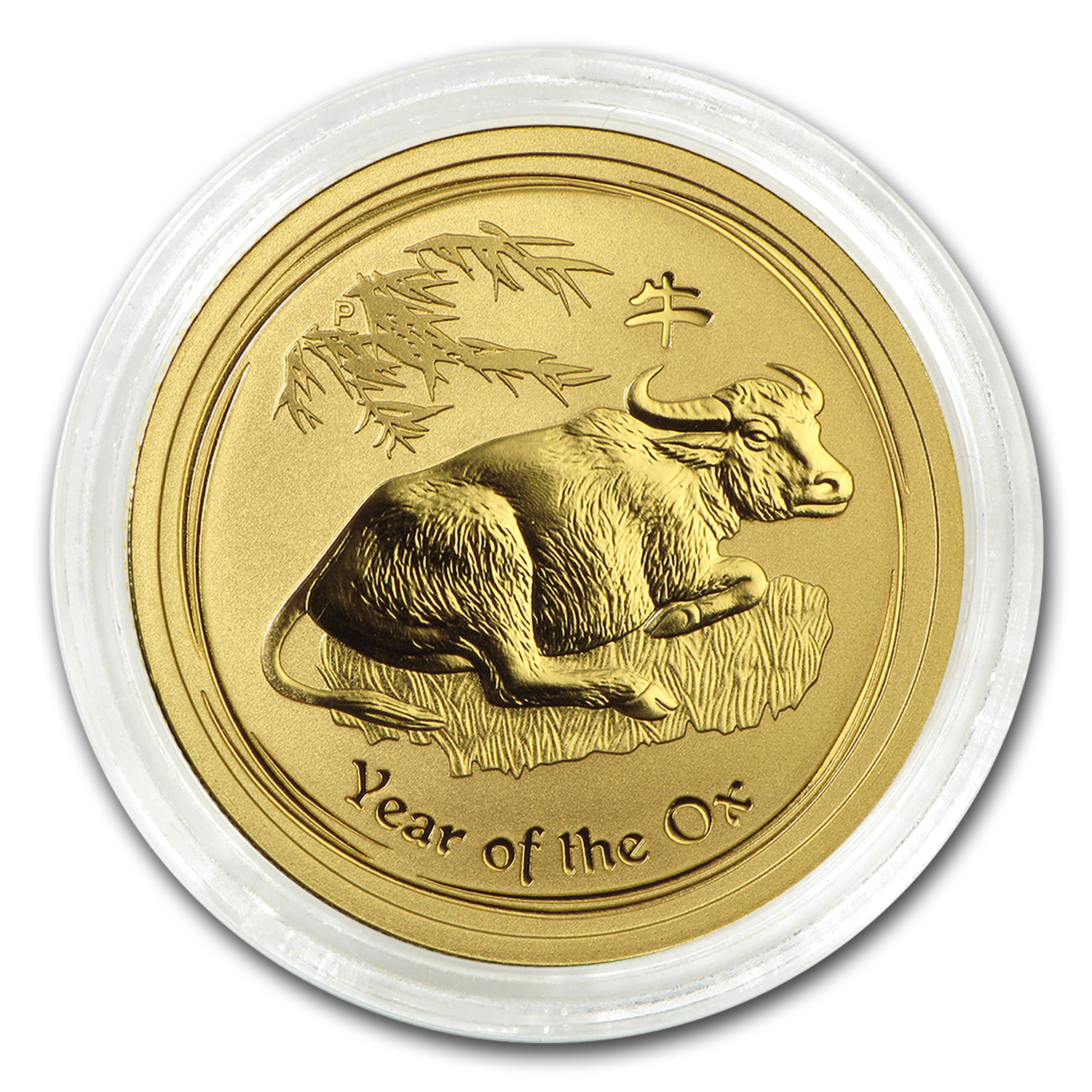 2009 Gold 1/2 oz Lunar Year of the Ox BU (Series II)