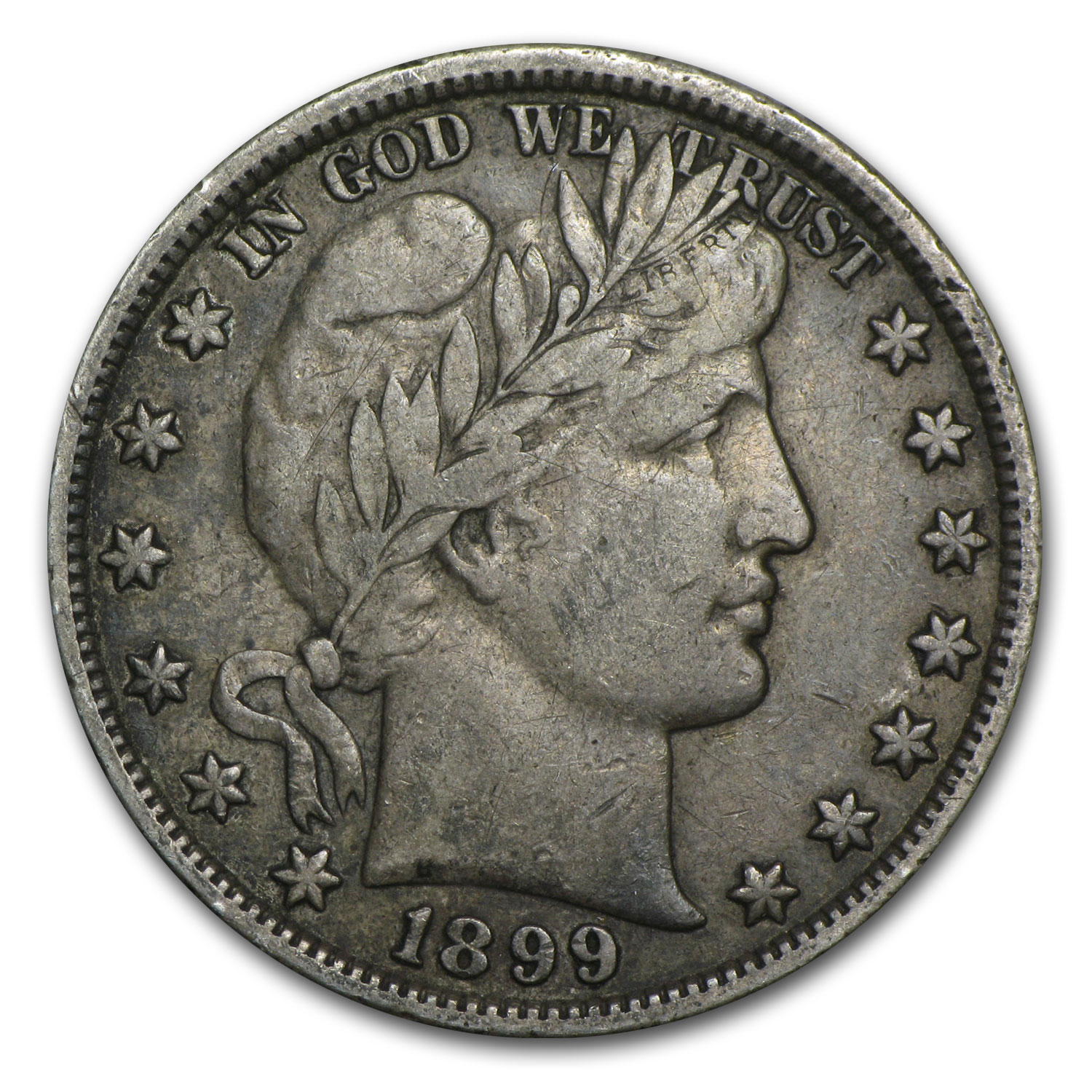 1899 Barber Half Dollar - Very Fine