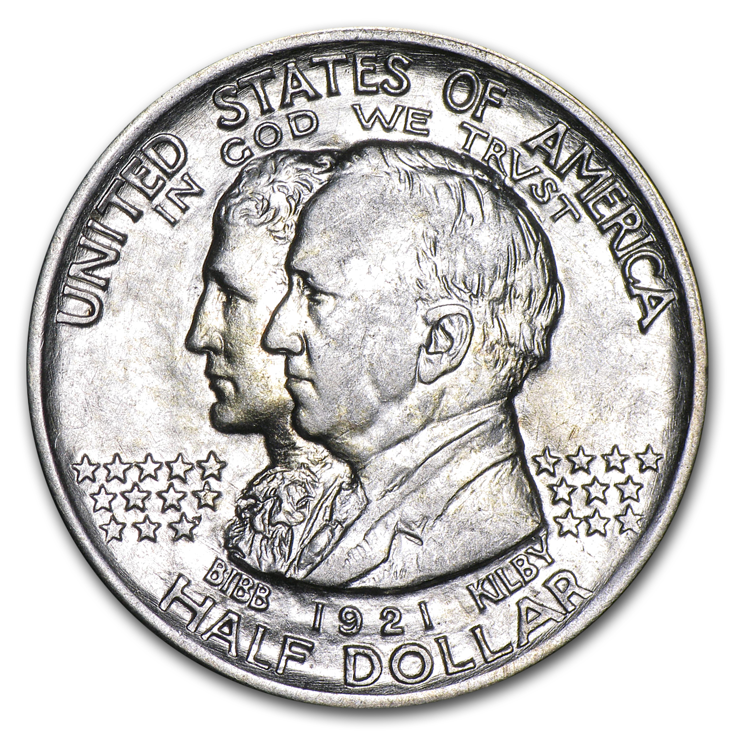 1921 Alabama Centennial Half Commemorative AU