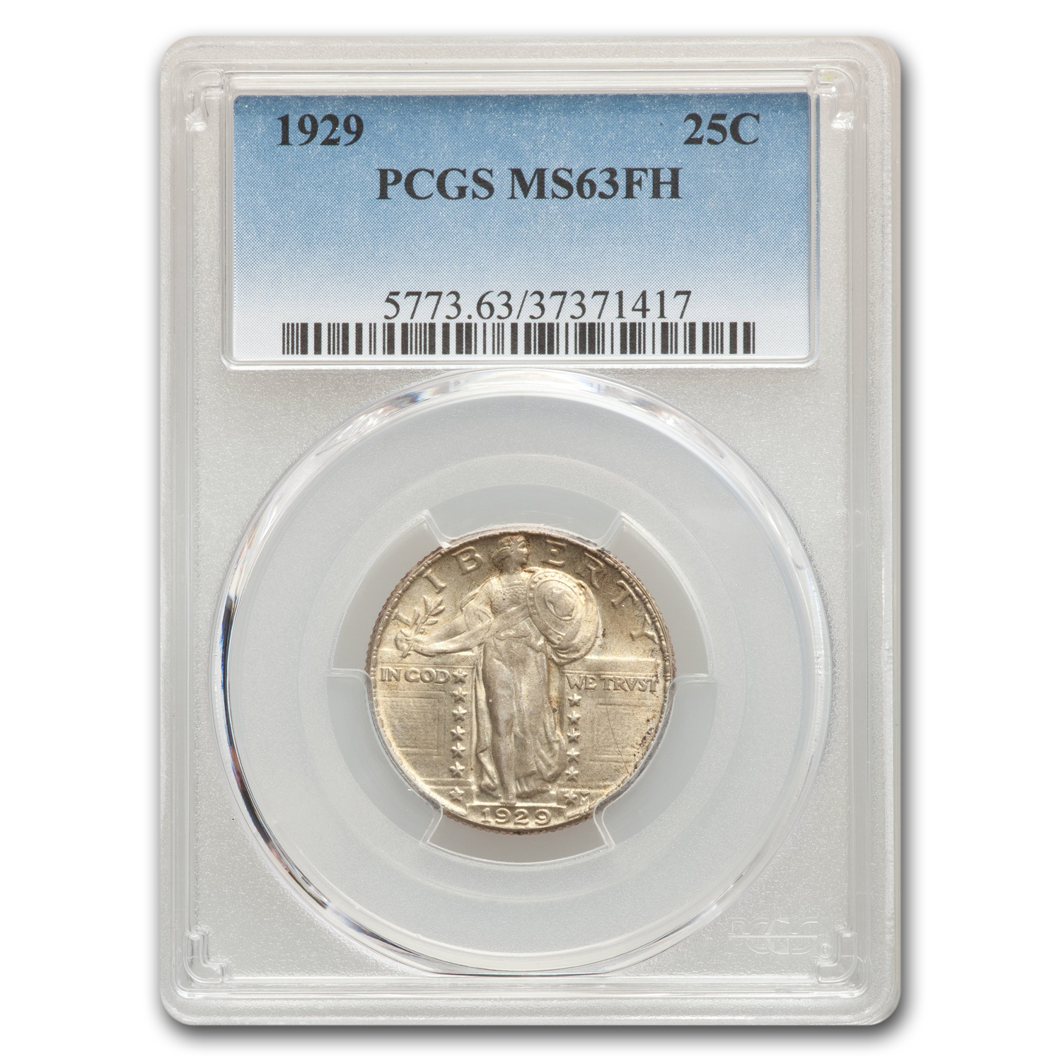 1929 Standing Liberty Quarter MS-63 PCGS (Full Head)