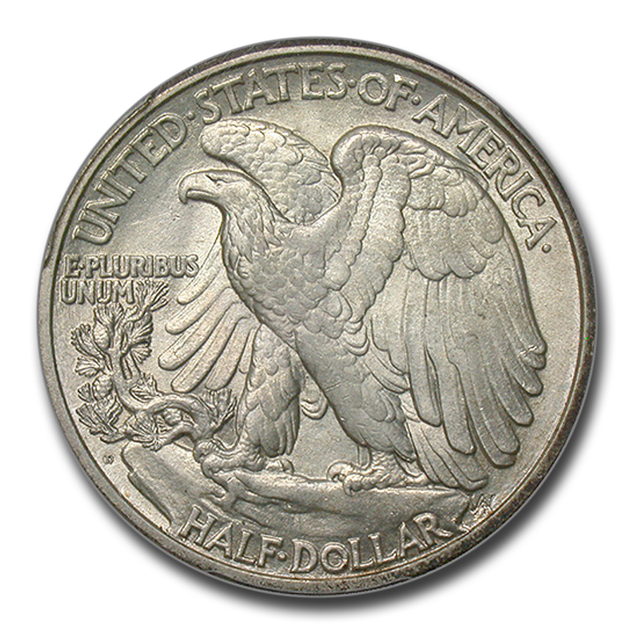1929-D Walking Liberty Half Dollar MS-62 PCGS