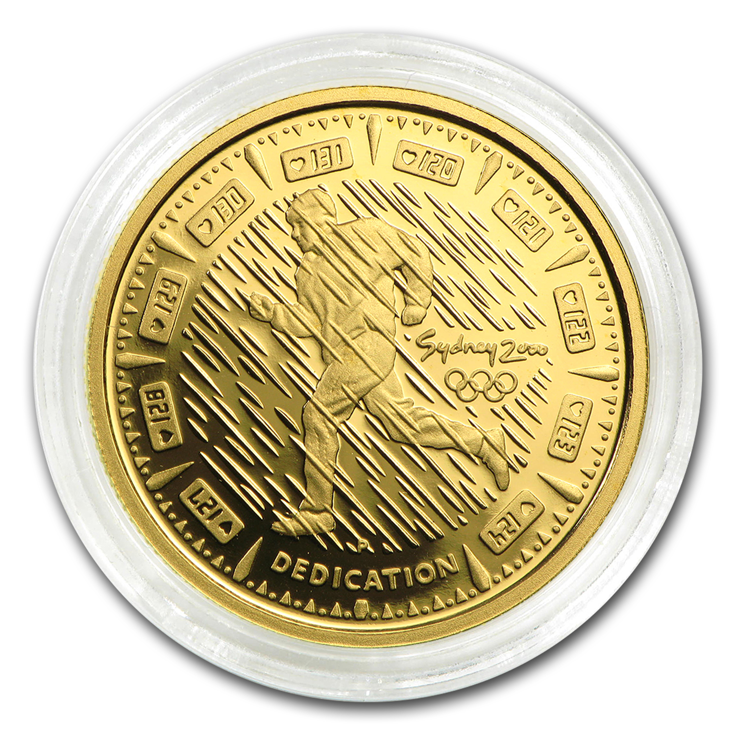 2000 Australia Proof Gold $100