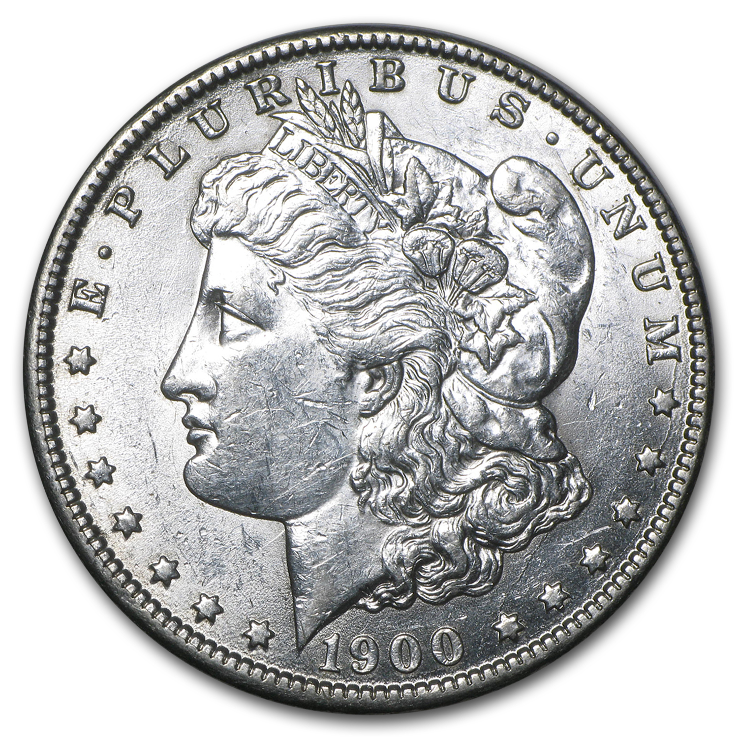 1900-O/CC Morgan Dollar AU