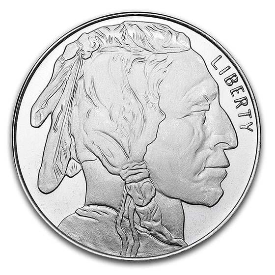 >1 oz Silver Round - Buffalo