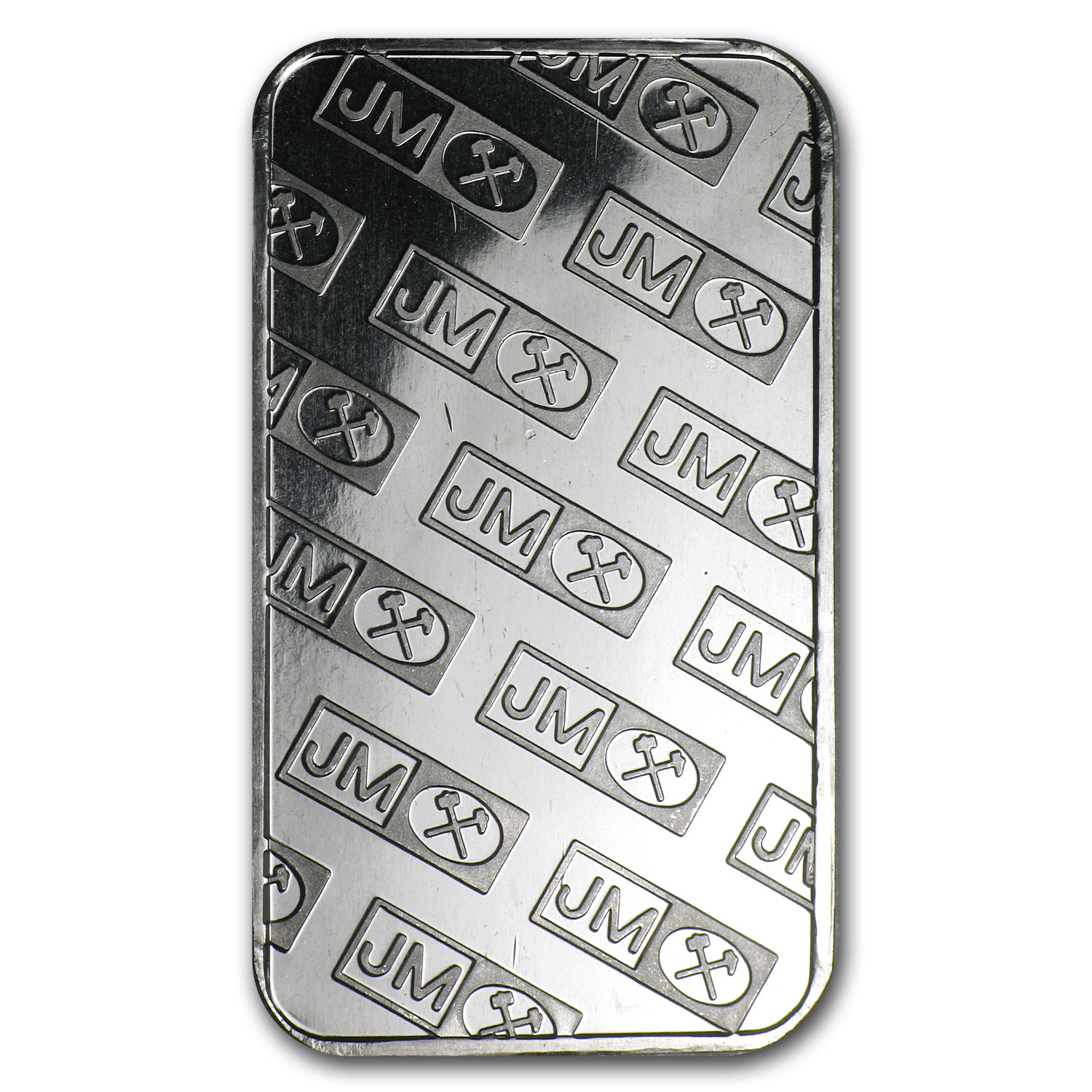 1 oz Palladium Bar - Johnson Matthey (Logo Back, No Assay)