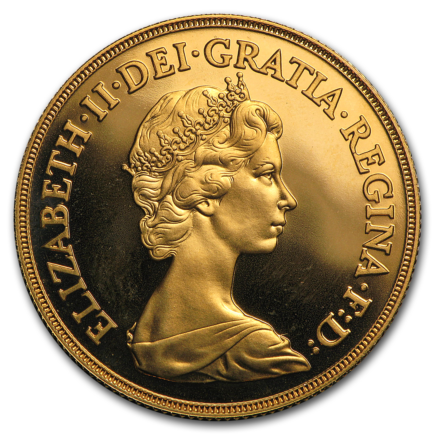 Great Britain Gold £2 Elizabeth II Proof (AGW .4708)