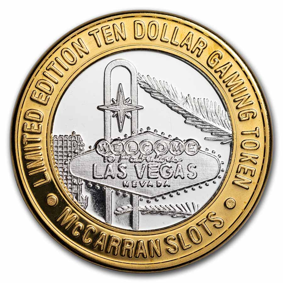 1.4 oz Silver Rounds - Grand Casino Gaming Tokens (Various)