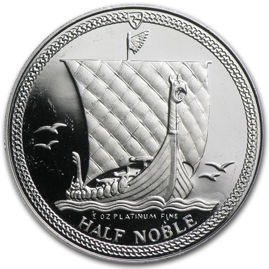 Isle Of Man 1 2 Oz Platinum Noble Proof Platinum Coins