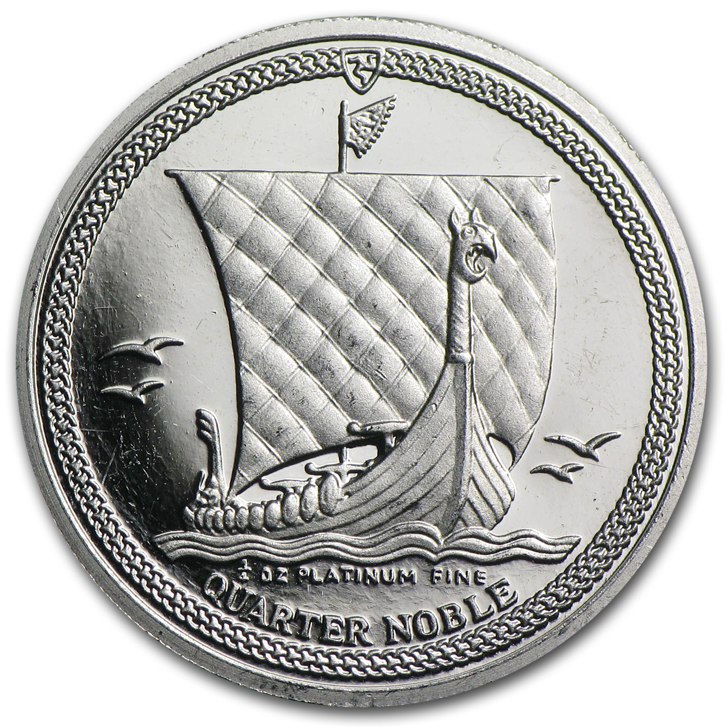 1/4 oz Isle of Man Platinum Noble (Proof)