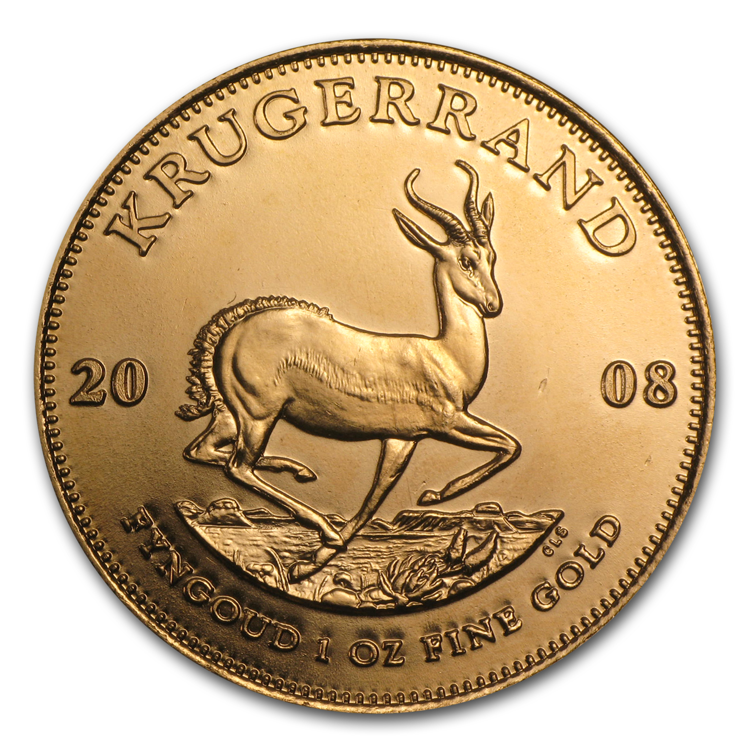 2008 1 oz Gold South African Krugerrand