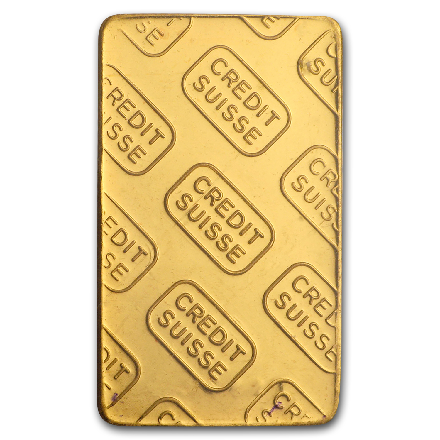 2.5 gram Gold Bars - Credit Suisse (in Assay)