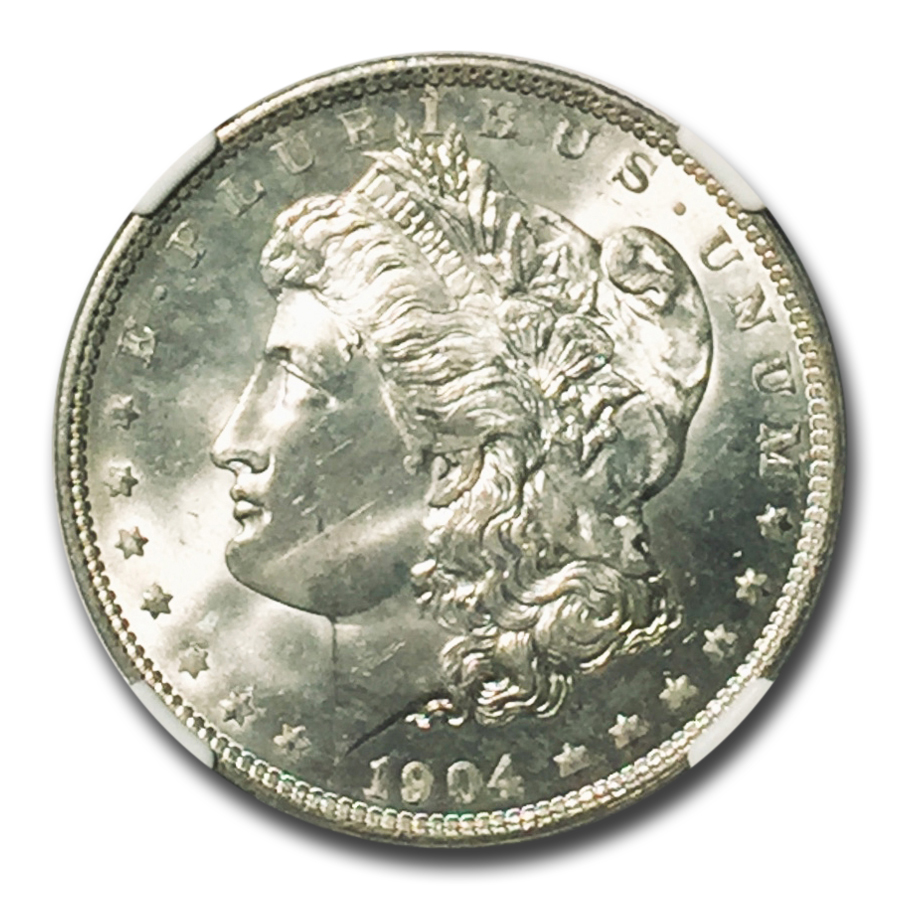 1904-O Morgan Dollar MS-66 NGC