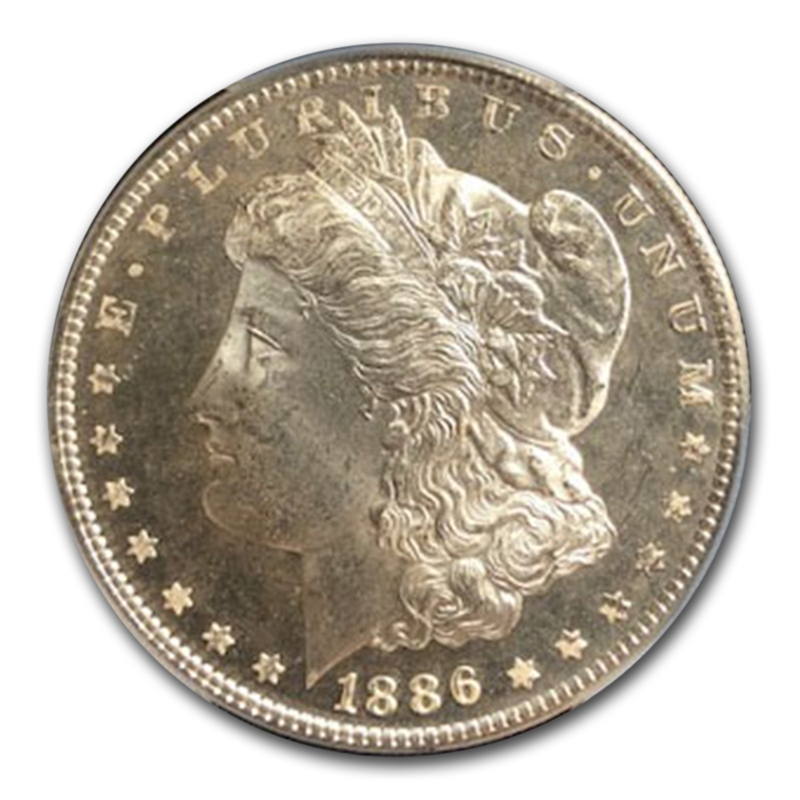 1886 Morgan Dollar - MS-64 DMPL Deep Mirror Proof Like PCGS