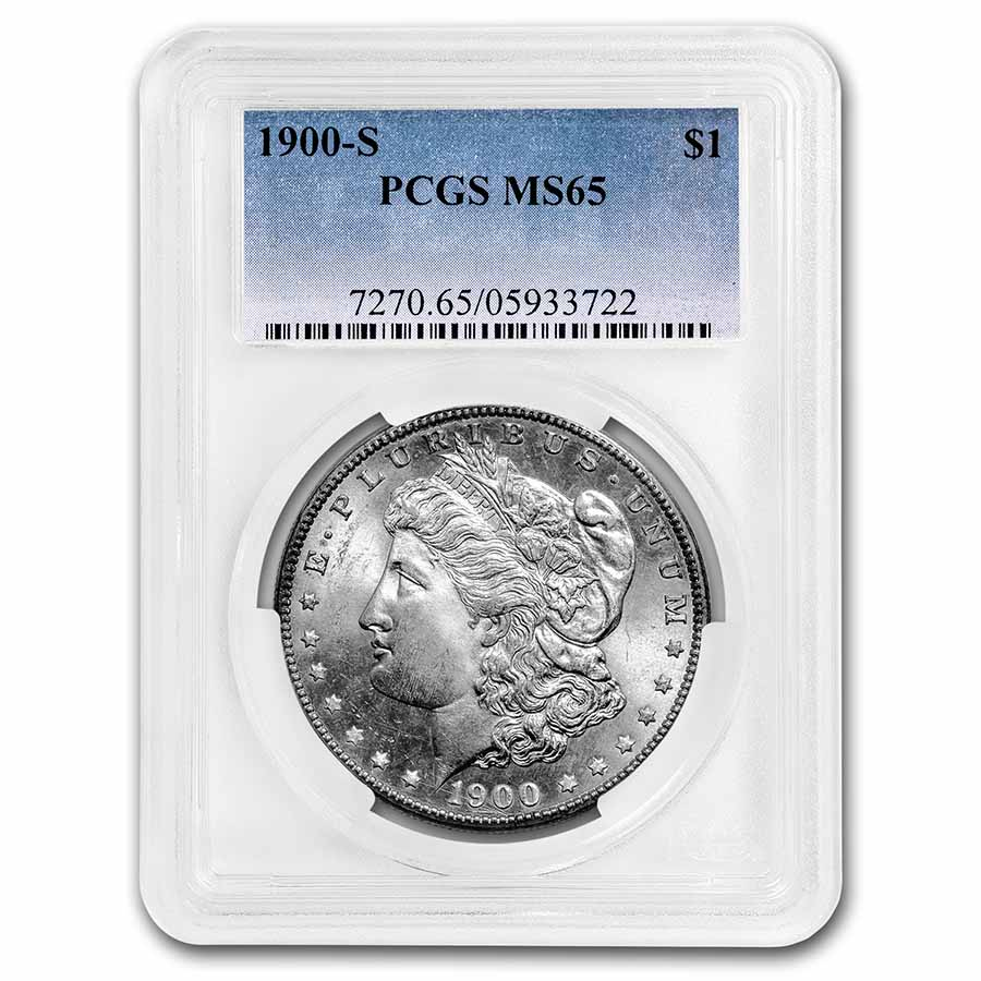 1900-S Morgan Dollar MS-65 PCGS