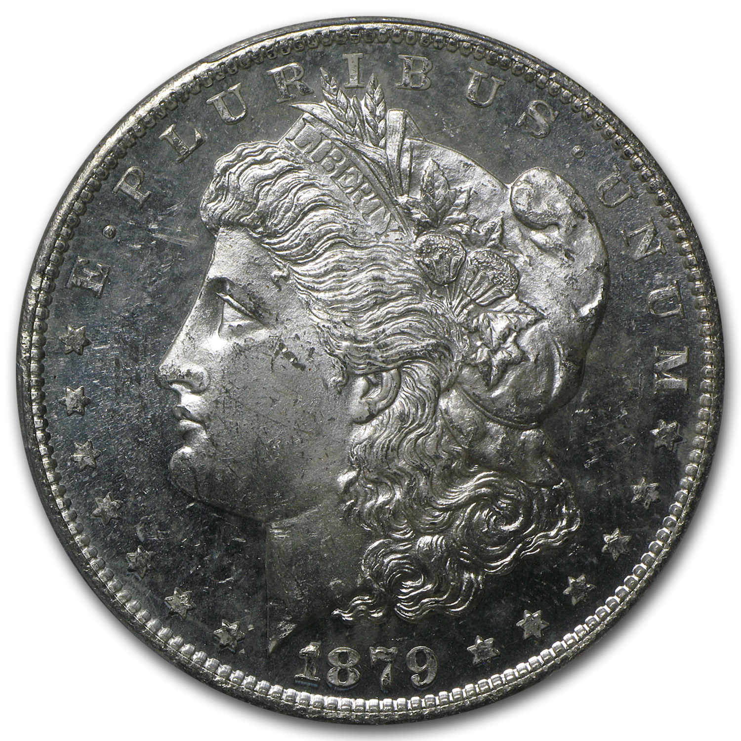 1879-S Morgan Dollar MS-63 PCGS
