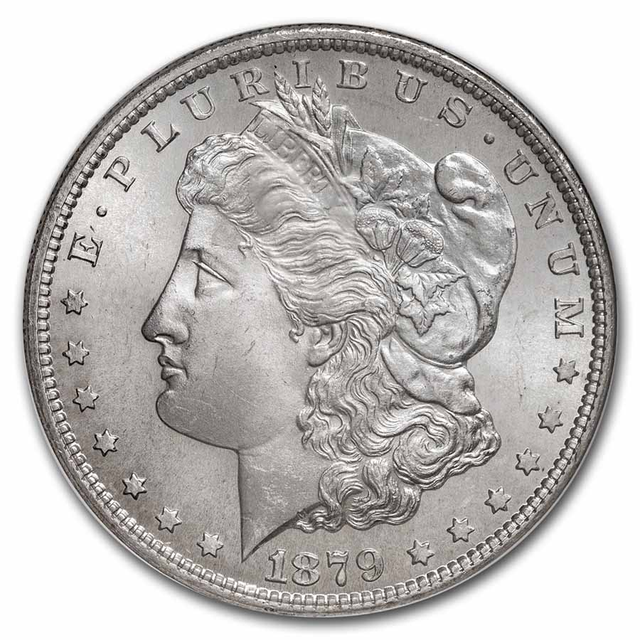 1879-S Morgan Dollar MS-65 NGC