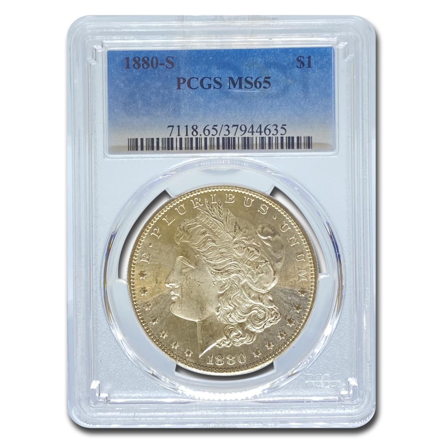 1880-S Morgan Dollar MS-65 PCGS