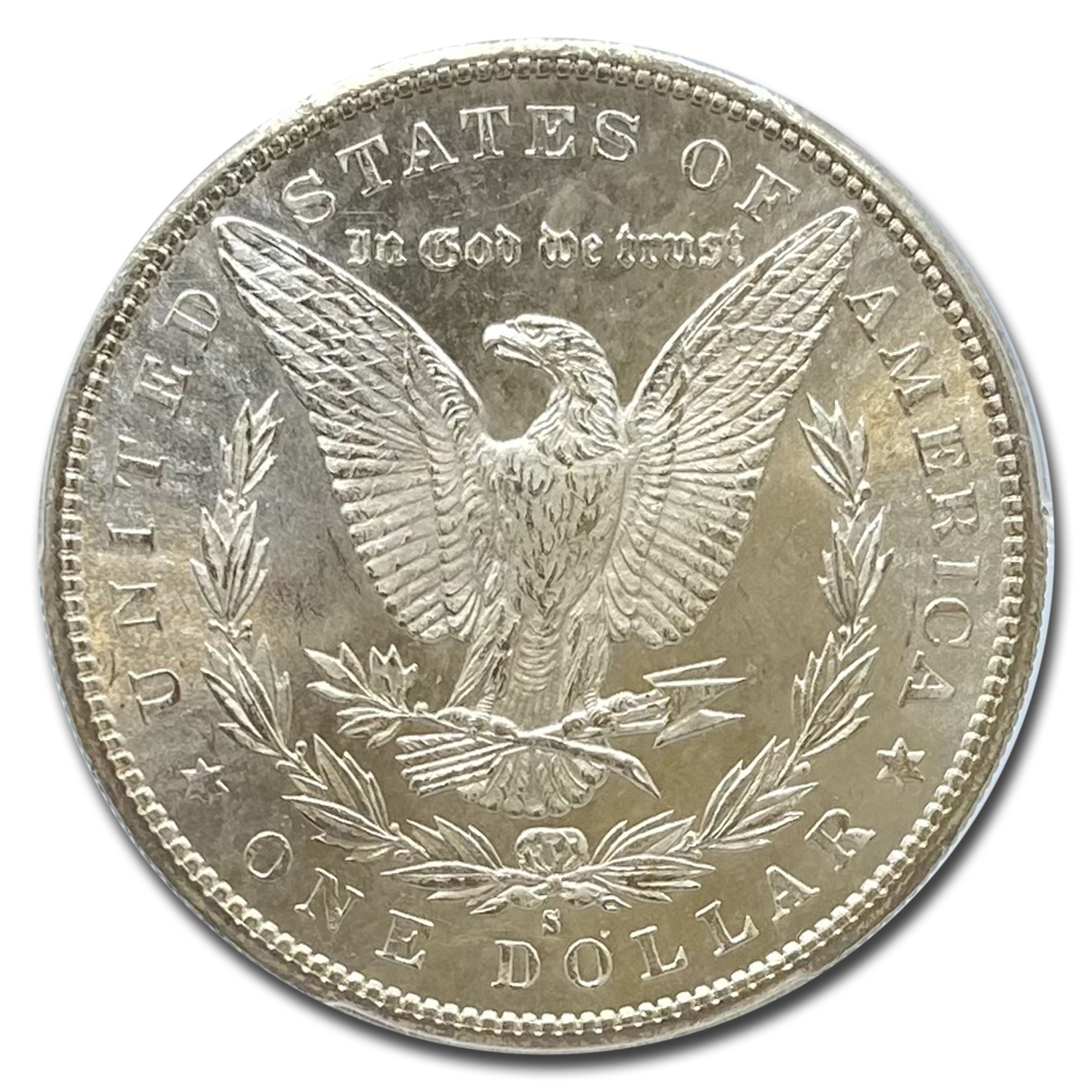 1880-S Morgan Dollar - MS-65 PCGS