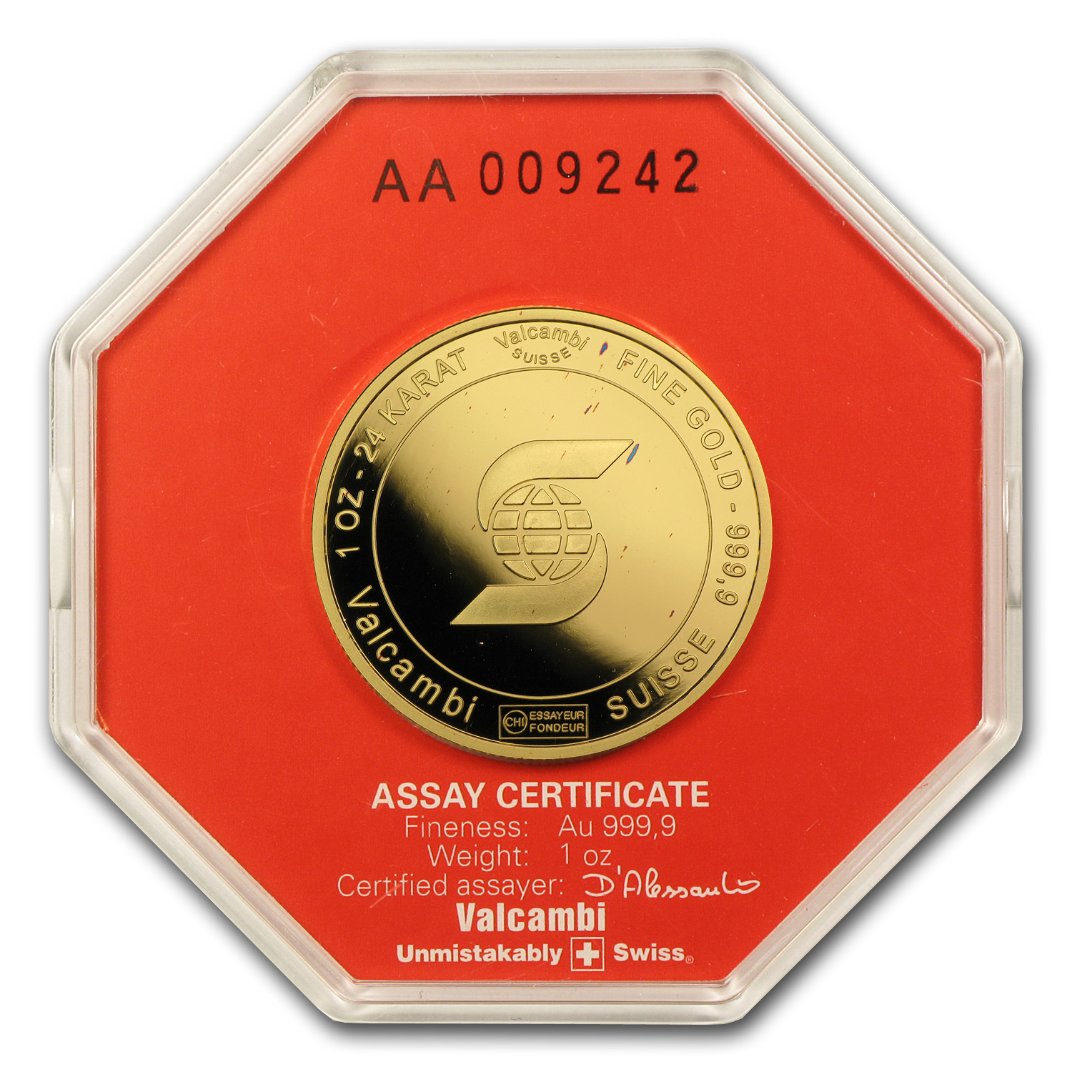 1 oz Gold Round - Scotiabank (In Assay)