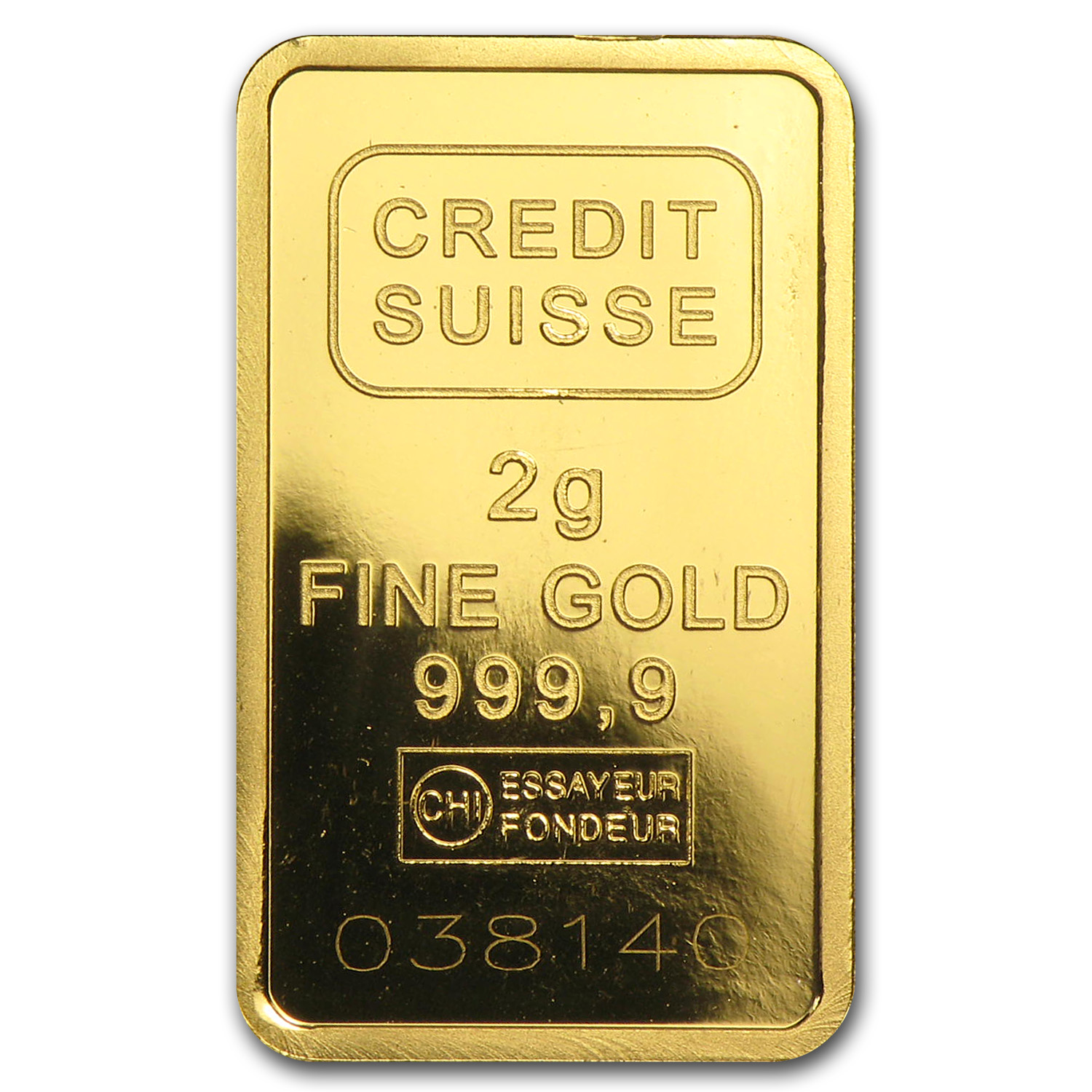 2 gram Gold Bar - Secondary Market