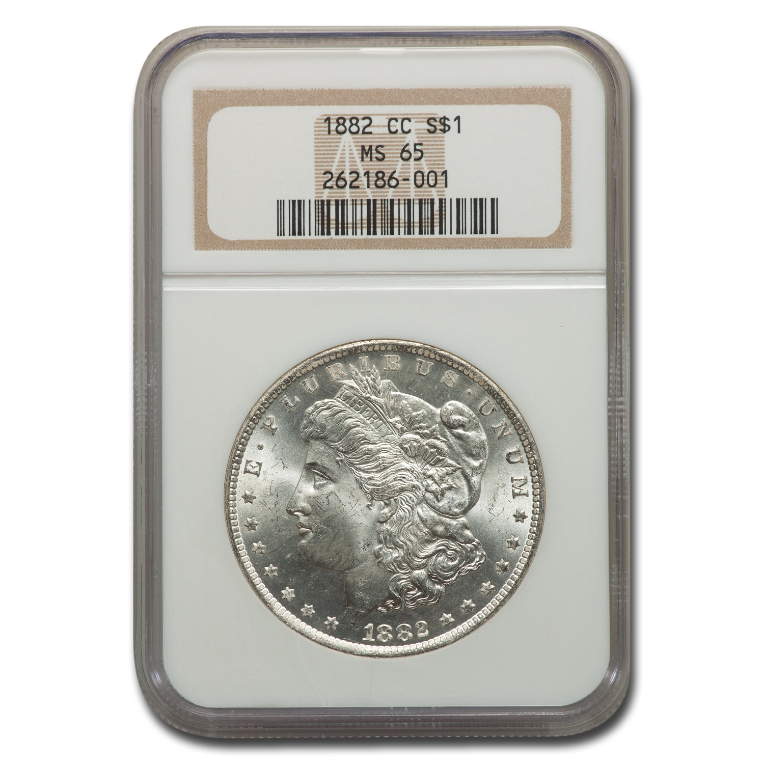 1882-CC Morgan Dollar MS-65 NGC