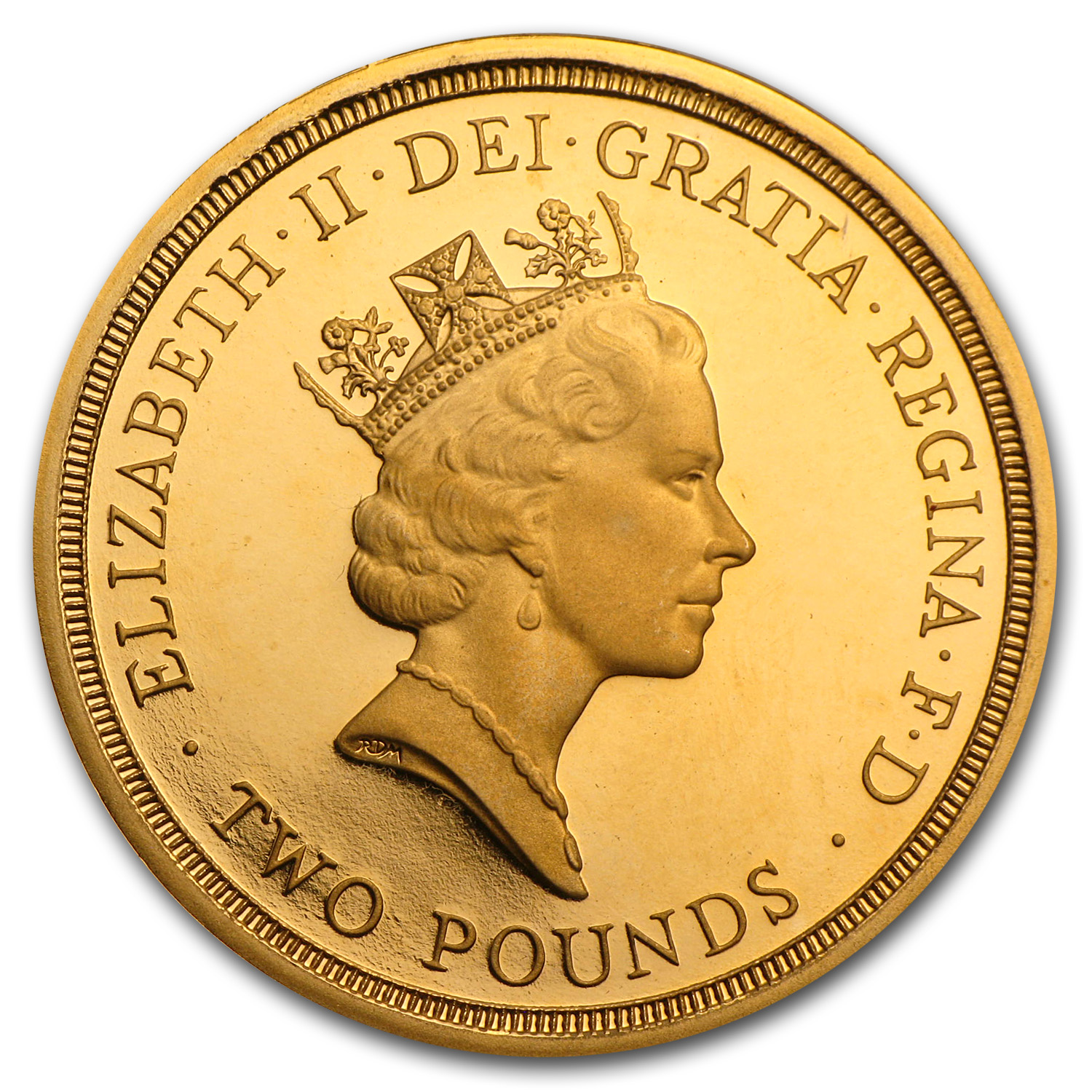 1995 Great Britain Proof Gold £2 WWII