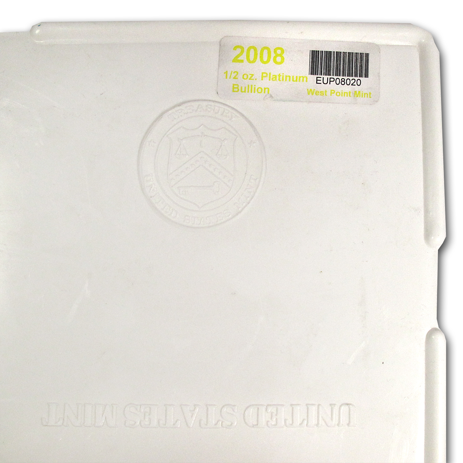 Empty 1000-Coin 1/2 oz Platinum American Eagle Monster Box(White)