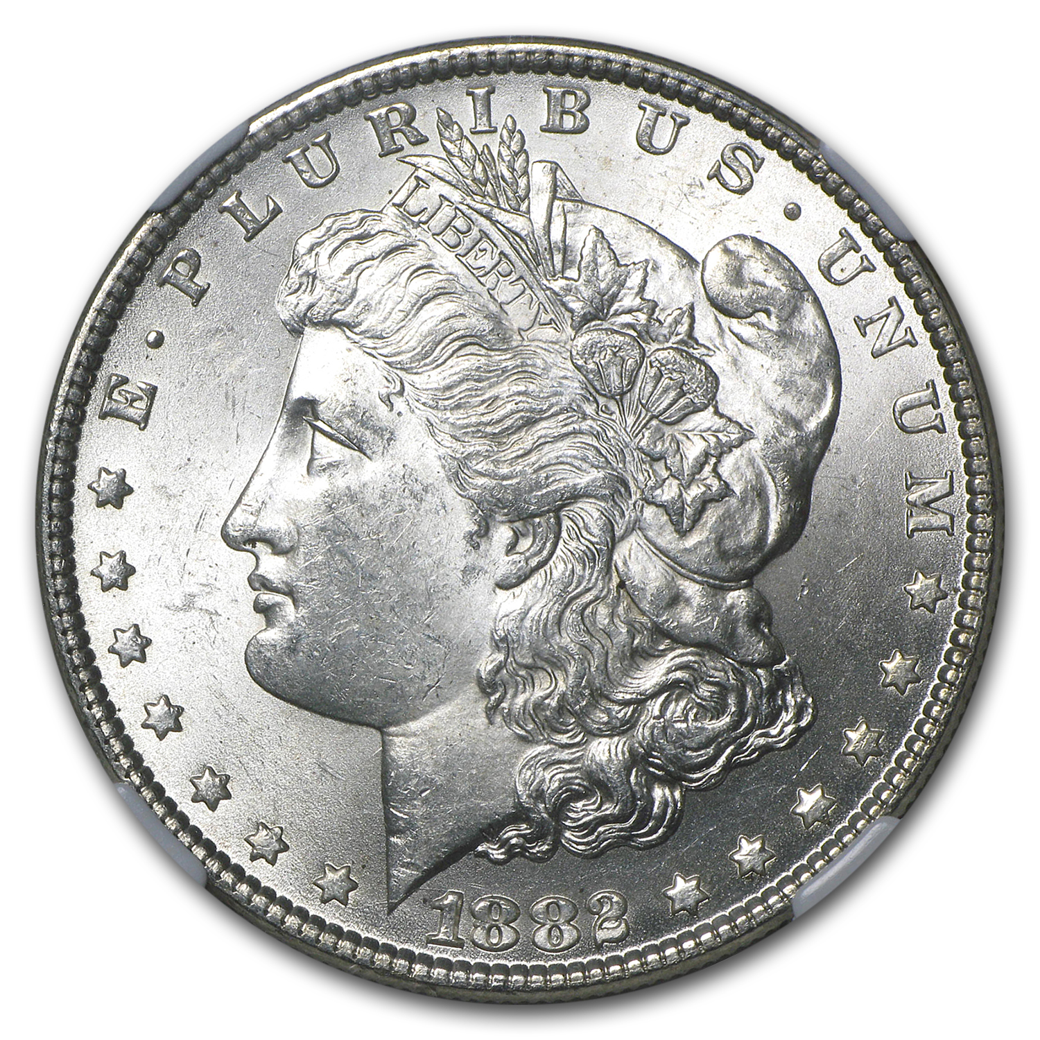 1882 Morgan Dollar - MS-63 NGC