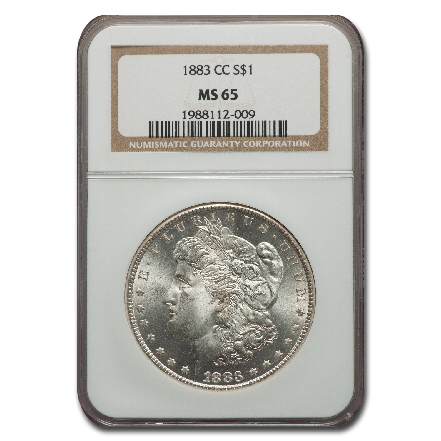 1883-CC Morgan Dollar MS-65 NGC