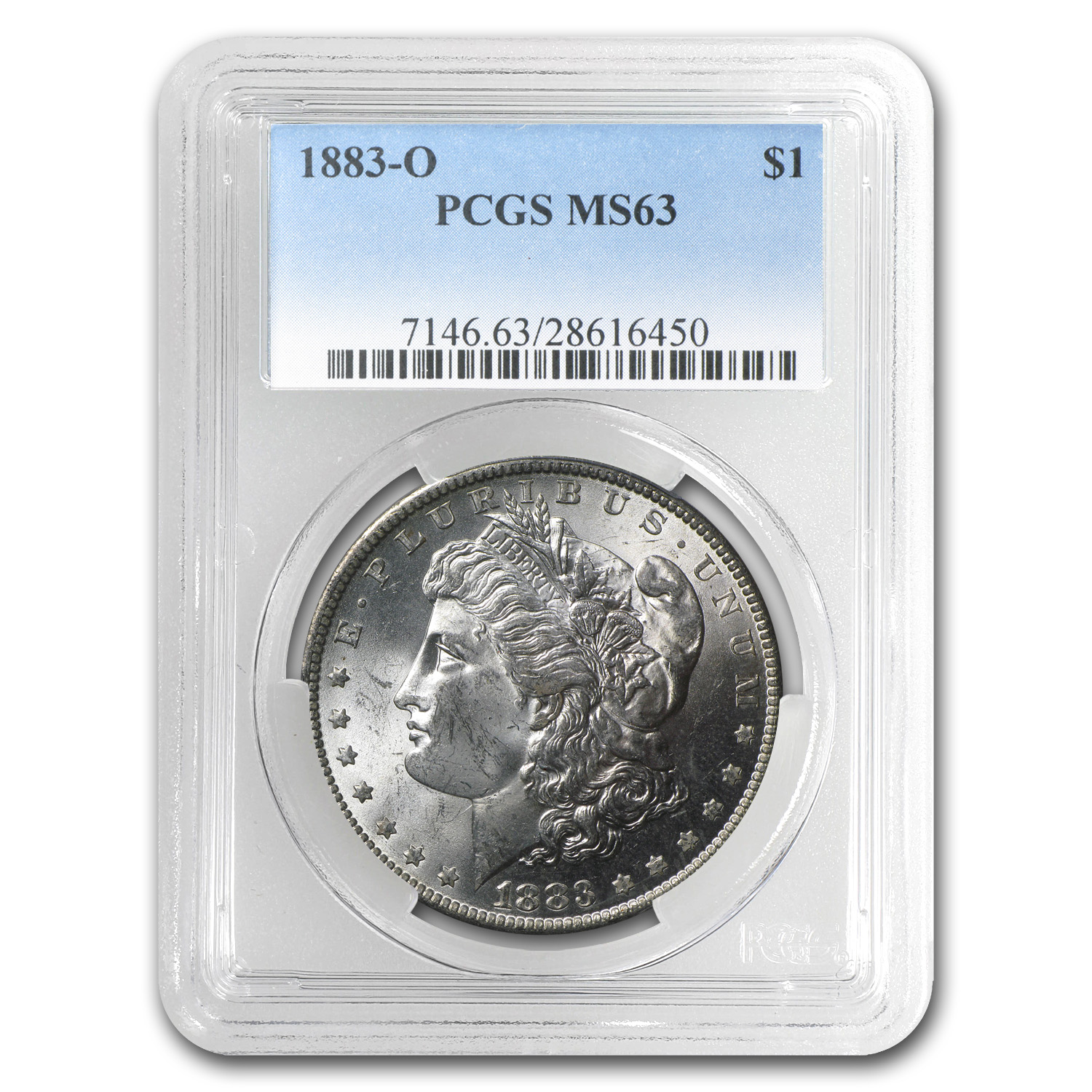 1883-O Morgan Dollar MS-63 PCGS