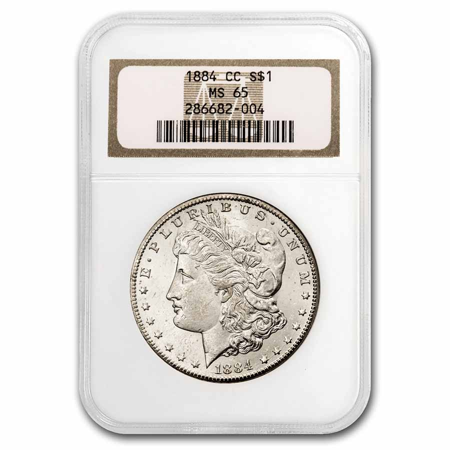 1884-CC Morgan Dollar MS-65 NGC