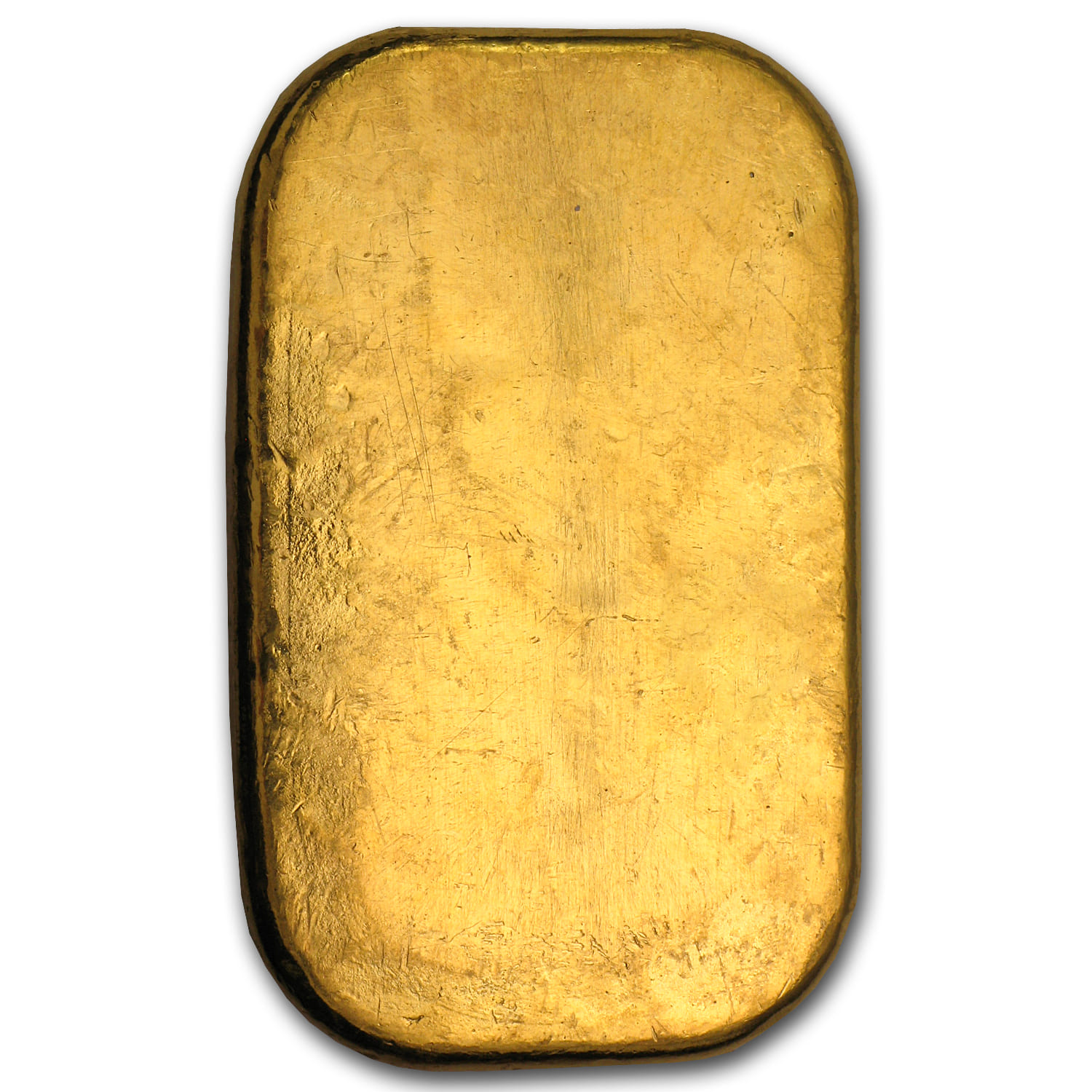 100 gram Gold Bar - Pamp Suisse (Cast, w/Assay)