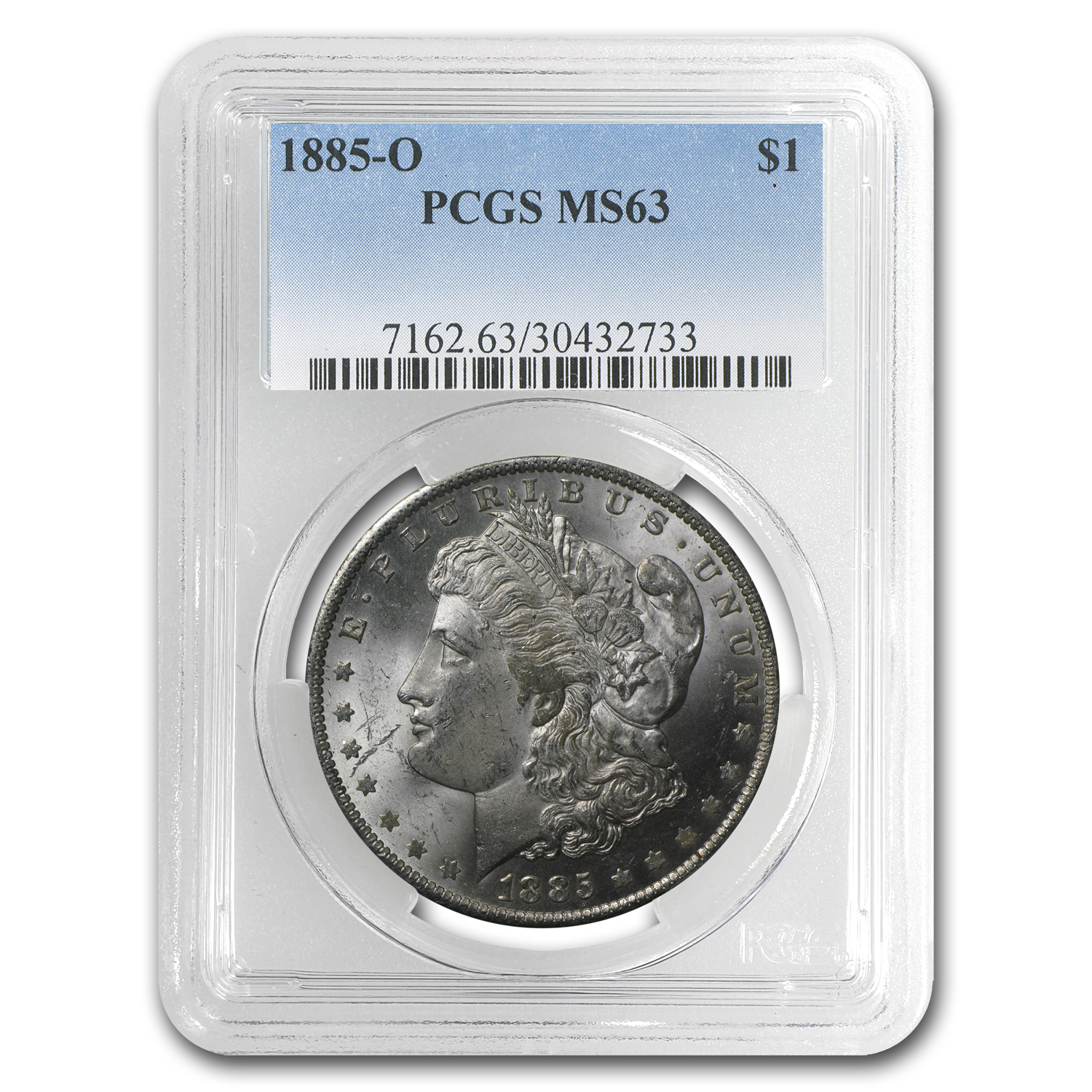 1885-O Morgan Dollar MS-63 PCGS