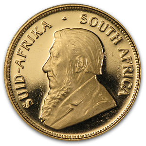 1999 South Africa 1/2 oz Proof Gold Krugerrand