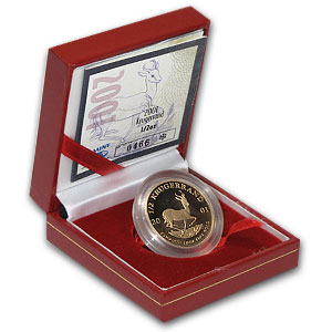 2001 1/2 oz Gold South African Krugerrand (Proof)