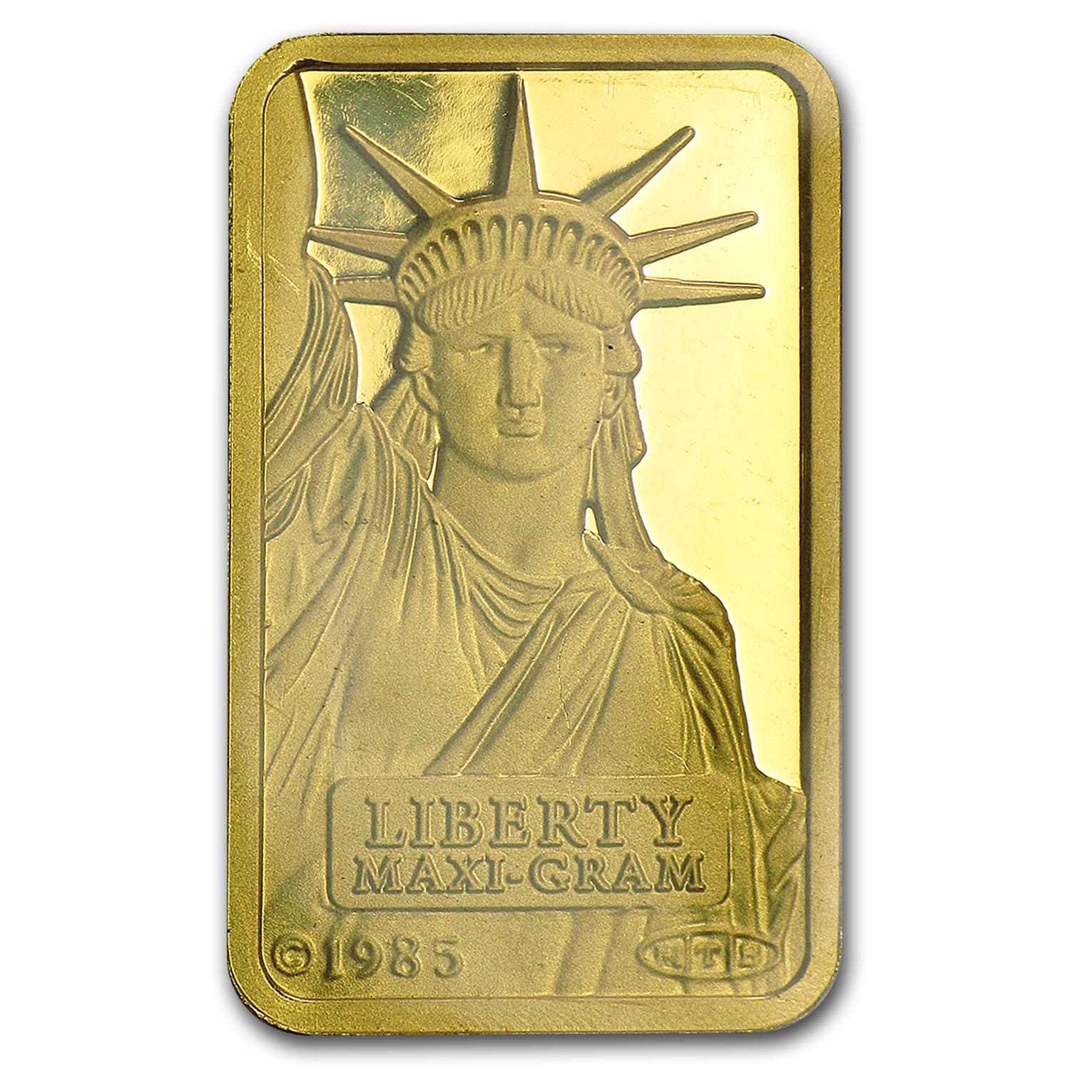 5 gram Gold Bar - Credit Suisse Statue of Liberty