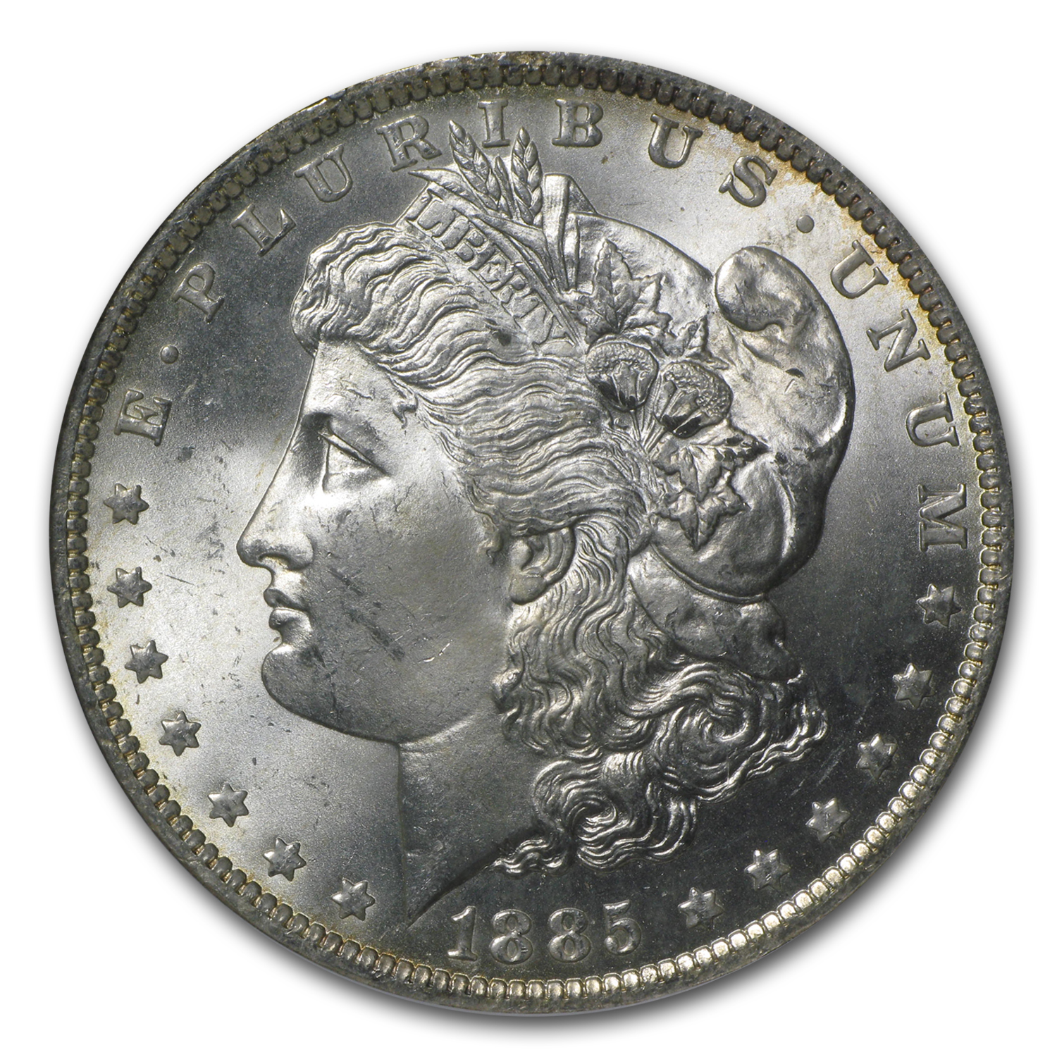 1885-O Morgan Dollar MS-65 NGC