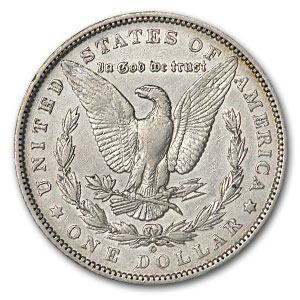 1893-O Morgan Dollar AU (Cleaned)