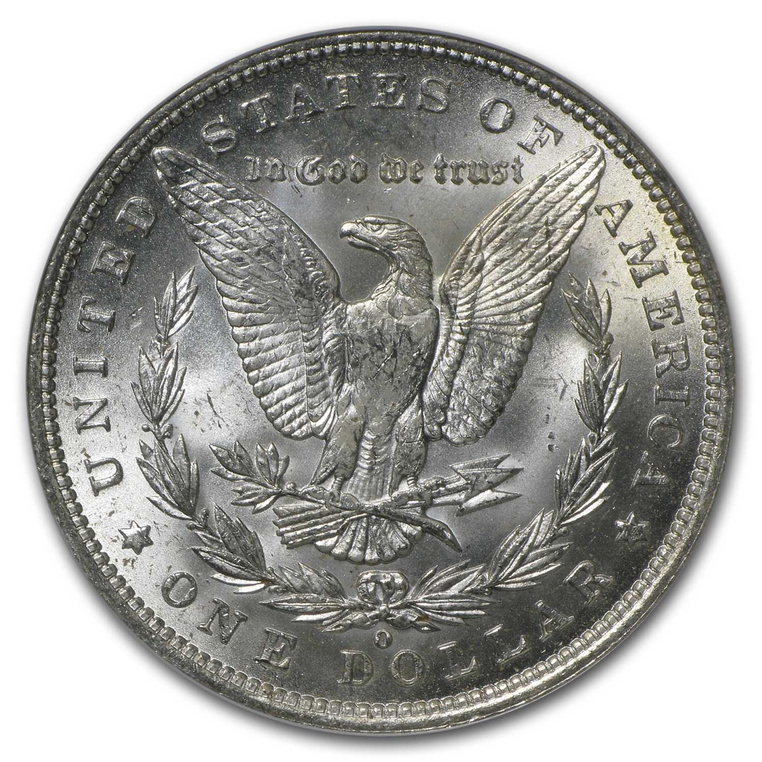 1888-O Morgan Dollar - MS-63 NGC