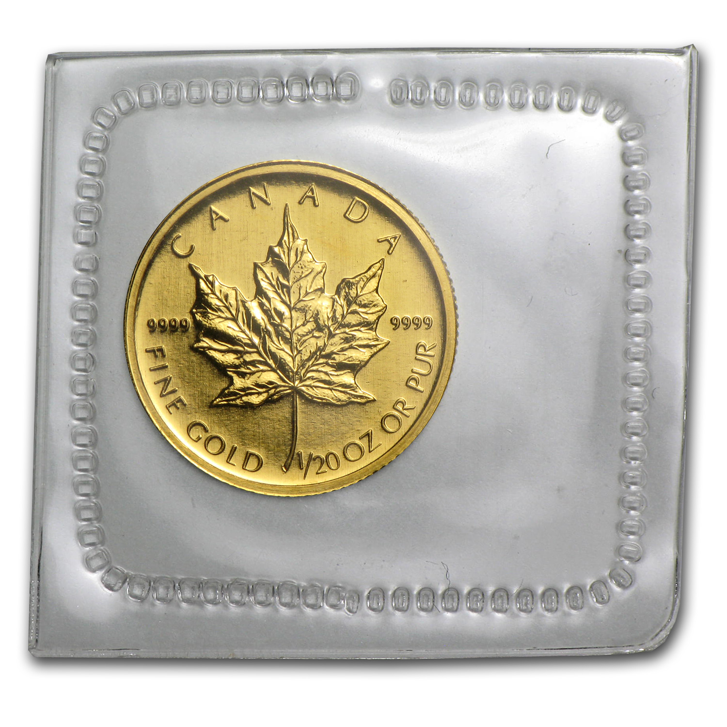 2009 1/20 oz Gold Canadian Maple Leaf
